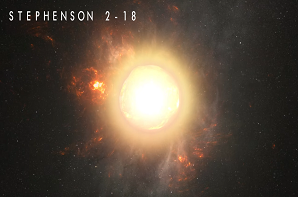 'Stephenson 2-18' The New Largest Star In The Universe