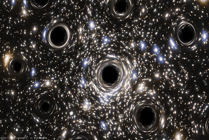 Discovery Of A Swarm Of Black Holes